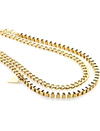 Storm Zulu Gold Necklace of 98cm