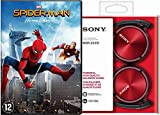 Spiderman - Homecoming ( incl Red Sony - On-ear Headphone MDRZX310 ) Limited (1 DVD)