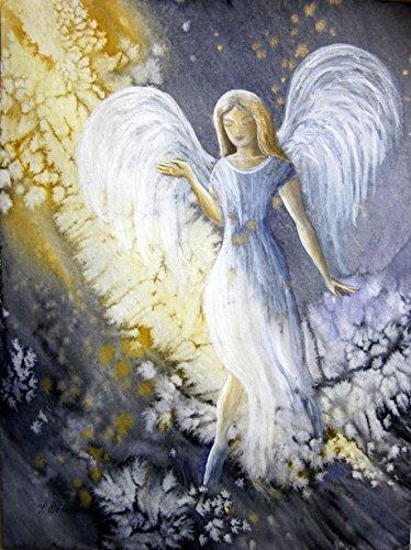 silwi-art***** Engelkarte xl Geschenkkarte xl Engelbild Schutzengelbild Kunstfoto limitiert und handsigniert