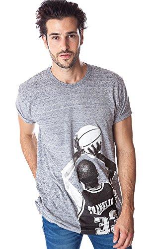 Neue Franklin Marshall Mens Grau Tsmva246 Lange Das Und Passen Designer T-shirt Grau