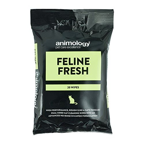 Animology Feline Fresh Cat Wipes (20)
