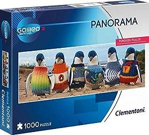 Clementoni 59092Pingüino pullis-Puzzle 1000T Galileo