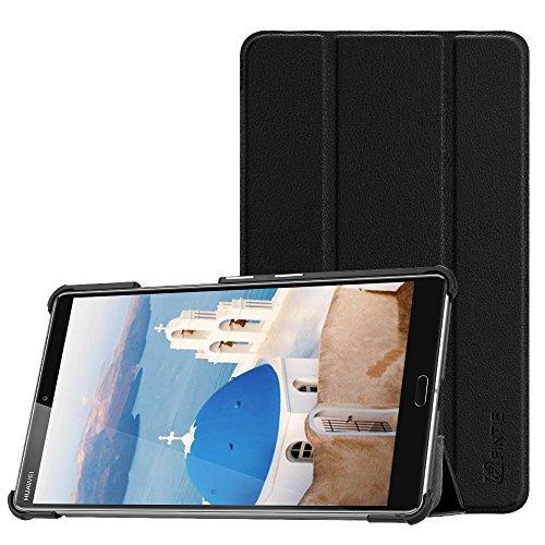Fintie Hülle Case für Huawei Mediapad M5 8 Tablet - Ultra Dünn Superleicht SlimShell Ständer Case Cover Schutzhülle Auto Sleep/Wake Funktion für Huawei MediaPad M5 21,34 cm (8,4 Zoll), Schwarz