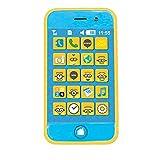 LEXIBOOK RPDES005 - Telefono Smartphone Cativissimo Me, Design Minions, Giochi d'imitazione per Bambini, Tasti Suono, Blu/Giallo