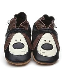 Zapatos piel de Luxe para bebé perro