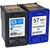 1x 56 Black & 57 Colour Remanufactured Ink Cartridge to replace HP