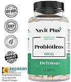 Probiotiques | 10 milliards d'UFC | Nouvelle formule renforcée à large spectre | 60 gélules végétales | Ne contient pas de gluten, ni de lactose | ISO9001 & GMP.