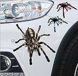 xj 3D - lebensecht Spider Aufkleber Aufkleber Auto Reflektierenden Terror - Aufkleber für BMW Audi, Ford, Volkswagen, Toyota - Aufkleber