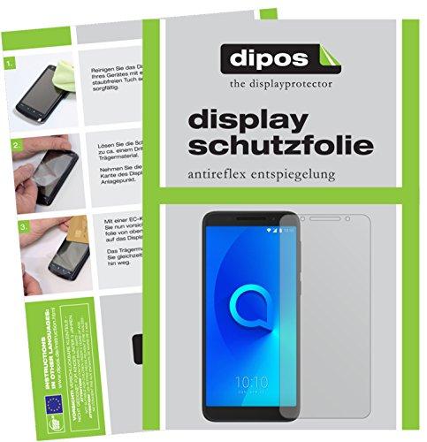dipos I 6X Schutzfolie matt passend für Alcatel 3V Folie Bildschirmschutzfolie