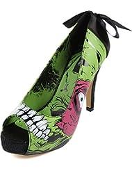 Iron Fist - Zapatos de vestir para mujer