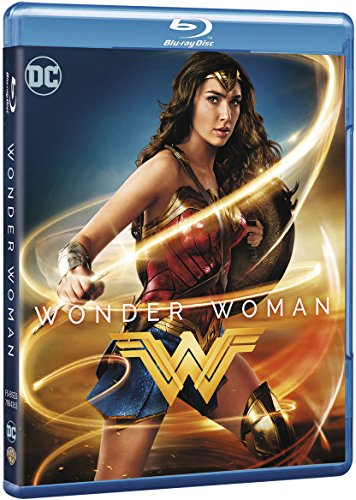 Película Wonder Woman Blu-ray y DVD