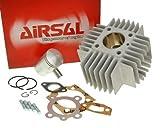 Zylinder Kit AIRSAL T6-Racing 49ccm  Maxi Aleta pequena
