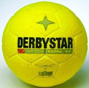 Derbystar Fussball Indoor Extra, Gelb, 4, 1152400500