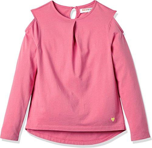 RED WAGON Mädchen Sweatshirt, Rosa (Pink), 128 (Herstellergröße: 8 Jahre)