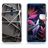 DIKAS Huawei Mate 10 Pro Hülle, Transparente Silikon TPU Case Schutzhülle Silikon Case für Huawei Mate 10 Pro (6.0