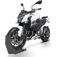Distanzst/ück Schwarz ConStands Motorrad Rad-Drehhilfe f/ür Honda CMX 250 Rebel inkl