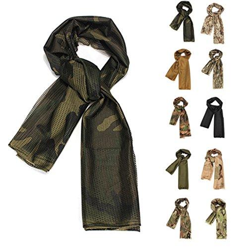 Pañuelo para cuello de estilo militar, ejército, policía - Para moto, bufanda,...
