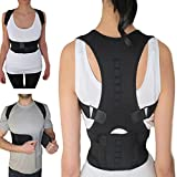#5: XL : Unisex Posture Therapy Corset Back Support Vest with Magnet Stone Corrector Magnetic