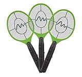 Gardigo - Raquettes Electriques Anti Moustiques, Anti-Insectes Volants, Tue Mouches; Set de 3