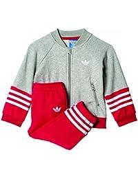 adidas I FL SST - Sweatshirt - Unisex Kinder, Grau, 116