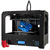 Win-Tinten 2018 New 3d Printer -DIY Personal Portability 3D-Printers support SD Card included 1 x 1.75mm ABS/PLA Filament