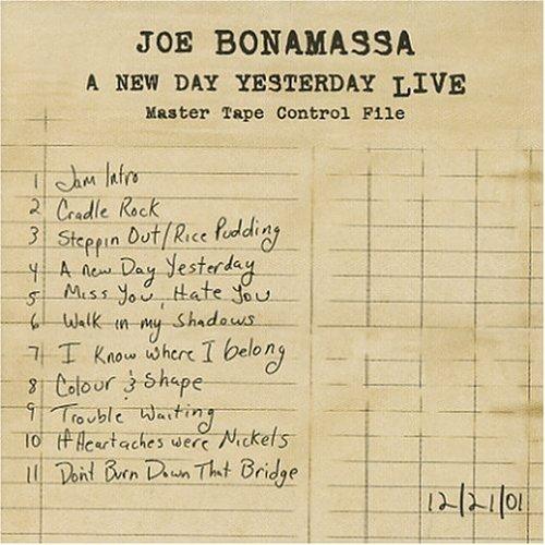A New Day Yesterday Live by Joe Bonamassa (2005-02-22)