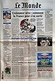 Telecharger Livres MONDE LE No 18255 du 05 10 2003 PETROLE L AMERICAIN EXXON CONVOITE SON RIVAL RUSSE SUPPLEMENT LE MONDE ARGENT OSER INVESTIR DANS L ART CONTEMPORAIN IRAK LE COUT DE LA RECONSTRUCTION 35 HEURES LA DROITE REPROCHE A LA GAUCHE LE COUT DE LA REFORME FINANCEMENT DU RPR LE PROCES REVELE L ETENDUE DU SYSTEME DES EMPLOIS FICTIFS LUTTE OUVRIERE L AMBITION ELECTORALE D ARLETTE LAGUILLER L AFFAIRE CANTAT NADINE TRINTIGNANT PEUT CONTINUER A VENDRE SON LIVRE EOLIE (PDF,EPUB,MOBI) gratuits en Francaise
