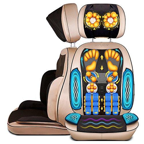 Nacken- und Rückenmassage Sitzkissen Körpermassage Stuhlkissen (Waist Vibrationsmassage)