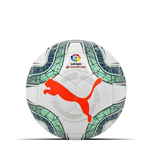 PUMA LaLiga 1 Mini Pallone da Calcio Unisex da Adulto Colore Bianco/Verde