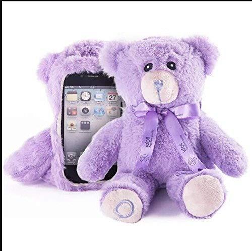 Cute 3D Bär Puppe Spielzeug Plüsch Fall Cover für Apple iPhone 611,9cm iPhone 4iPhone 4S Samsung Galaxy S3SIII i9300Samsung Galaxy S4SIV i9500Lila iPhone 6/4,7 Zoll ()