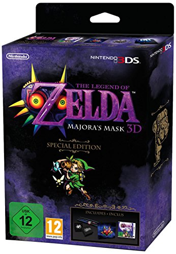 The Legend of Zelda: Majoras Mask - Special Edition (Majoras Nintendo 3ds New Xl Mask)