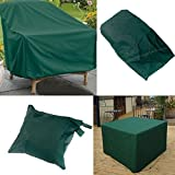 Tutoy 280X206X108Cm Wasserdichte Outdoor-Möbel Set Deckel Tabelle Shelter