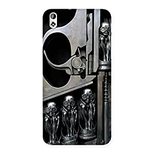 Sharpshooter Three Gun Back Case Cover for HTC Desire 816s