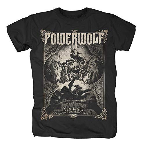 Powerwolf Vada Satana T-Shirt schwarz XXL