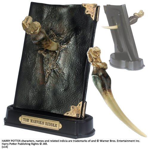 Harry Potter Replica 1/1 Basilisk Fang and Tom Riddle Diary Noble Collection