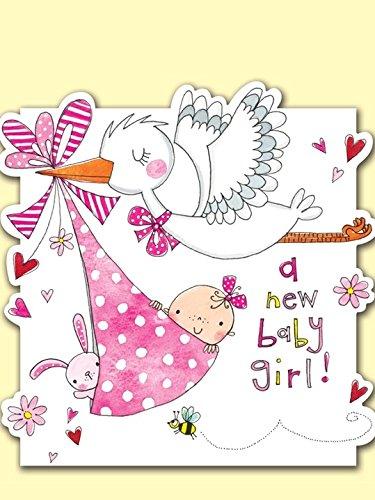 Favorito Rachel Ellen - Biglietto di auguri per nascita bimbo [lingua inglese] LR64