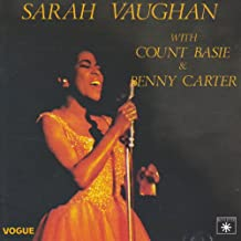 Sarah Vaughan with Count Basie & Benny Carter