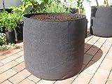 150 Liter - ø62 x 50cm Pflanzsack mit Henkeln Pflanztasche Töpfe Hochbeet