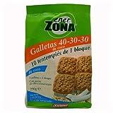 ENERZONA GALLETAS 40-30-30 COCO 250 G