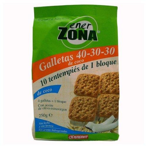 Biscotti di cocco 40-30-30 ENERZONA 250 G - 51ku6yLyVdL