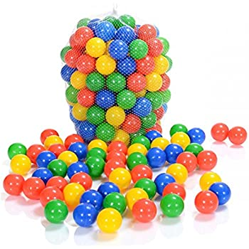 Palline Colorate morbide in Plastica PE per piscina bambino diametro 5,5cm //cm