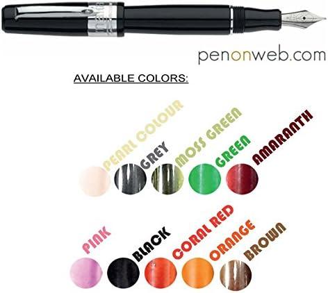 Marlen Pens - Marlen ONE Stilografica Stilografica Stilografica verde | Caratteristico  | Abile Fabbricazione  | Tocco confortevole  b110e2