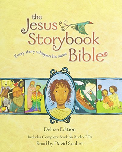 The Jesus Storybook Bible Deluxe Edition: With CDs by Sally Lloyd-Jones(2014-08-26)