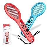 Blinngo Tennis Rackets Switch TennisSchläger Tennisschläger für Nintendo Switch Joy-Con Zubehör für Mario Tennis Aces Game