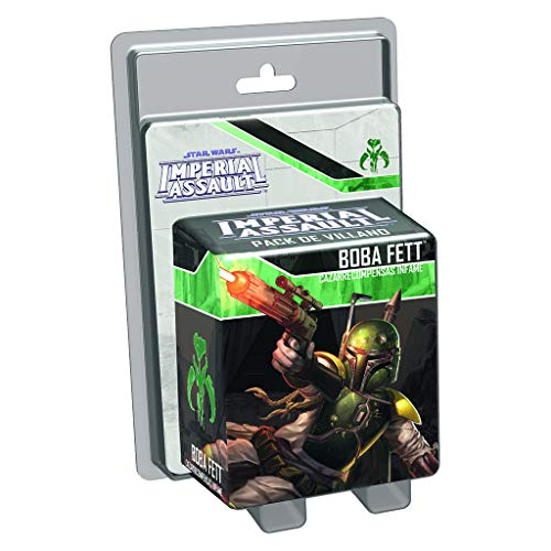 Fantasy Flight Games- Star Wars Imperial Assault, Boba Fett, Color (Edge Entertainment EDGSWI11)
