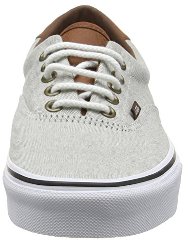 Vans Authentic, Sneakers mixte adulte Beige (Oxford & Leather/Black/True White)
