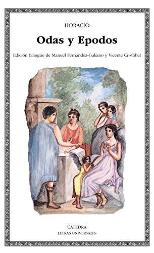 Odas y Epodos (Letras Universales) por Horacio