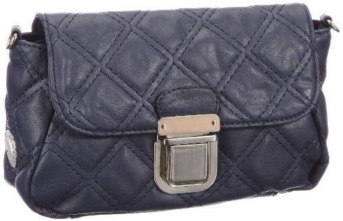 Friis & Company Kiwi Shoulderbag 1240248, Damen Messengerbags, Blau (Fleet 183), 20x12x6 cm (B x H x T)