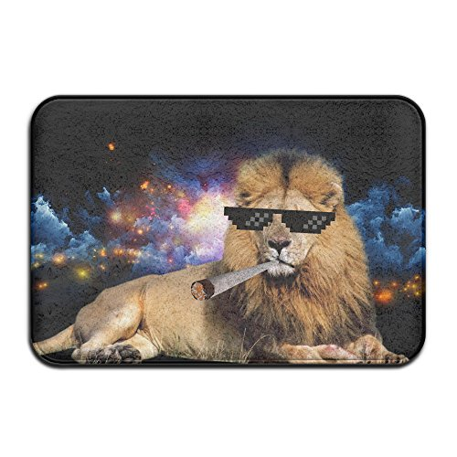 DIYABCD Funny Tiger King Earth Doormat Anti Slip House Garden Gate Carpet  Door Mat Floor Pads   Buy Online In Oman. | Unknown Binding Products In  Oman   See ...