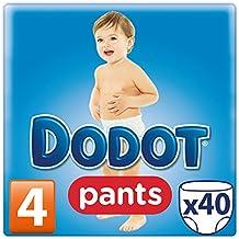 Dodot - Pack 40 pañales, talla 4, 8-15 kg